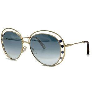 Chloe CE169S Delilah 57mm Double Rim Sunglasses
